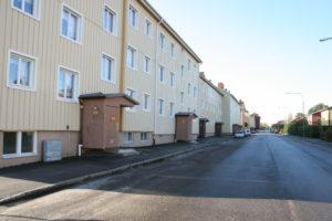 Bild från Åsbäcksgatan
